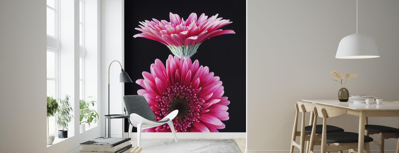 Gerbera - Wallpaper - Living Room