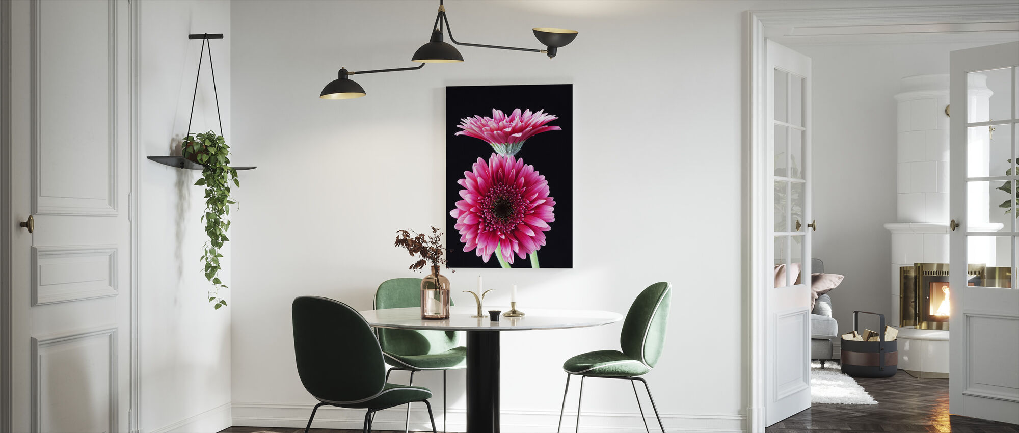 Gerbera - Canvas print - Kitchen