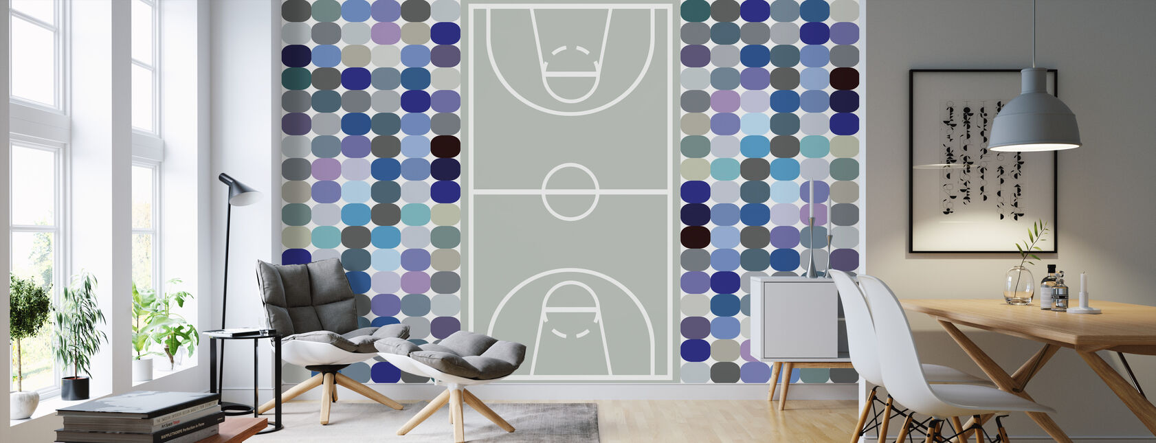 Basketball - Wallpaper - Living Room