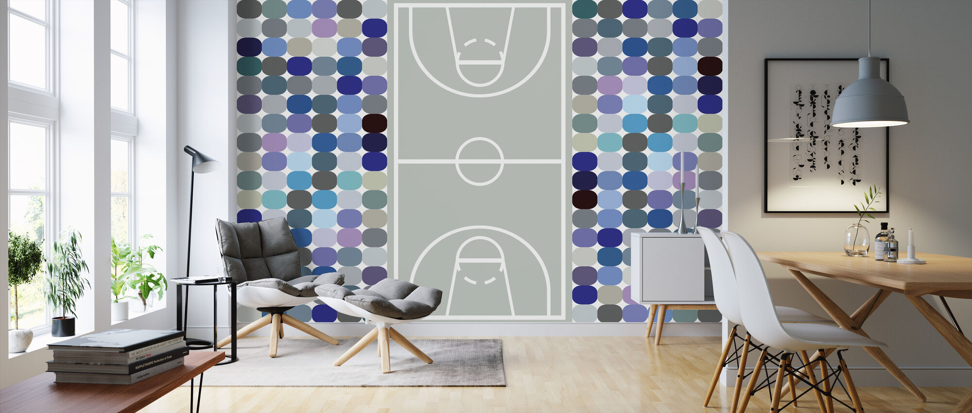 Basketbal - Behang - Woonkamer