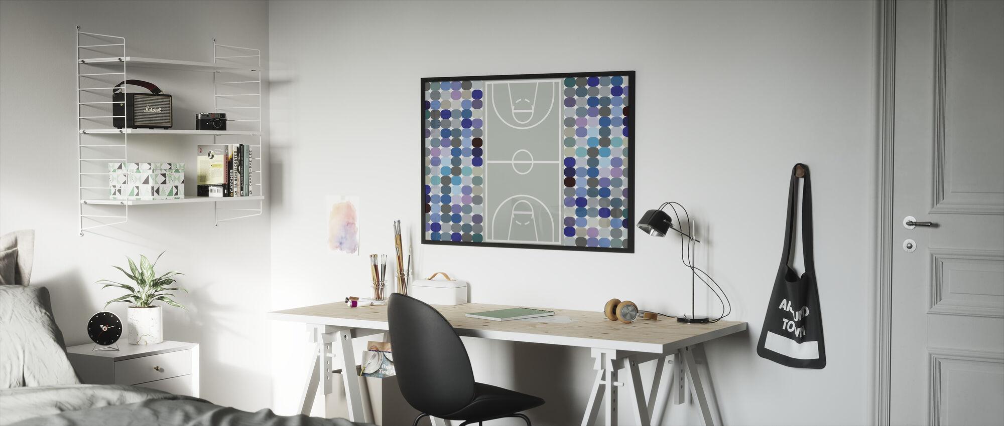 Basketball - Framed print - Kids Room