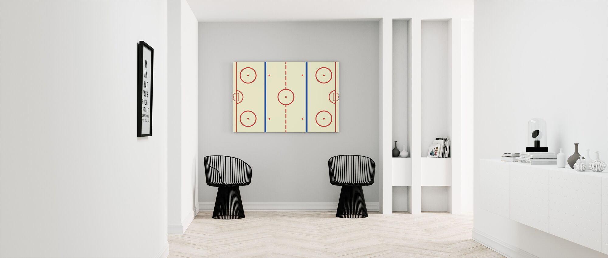 Ice Hockey Rink - Canvas print - Hallway