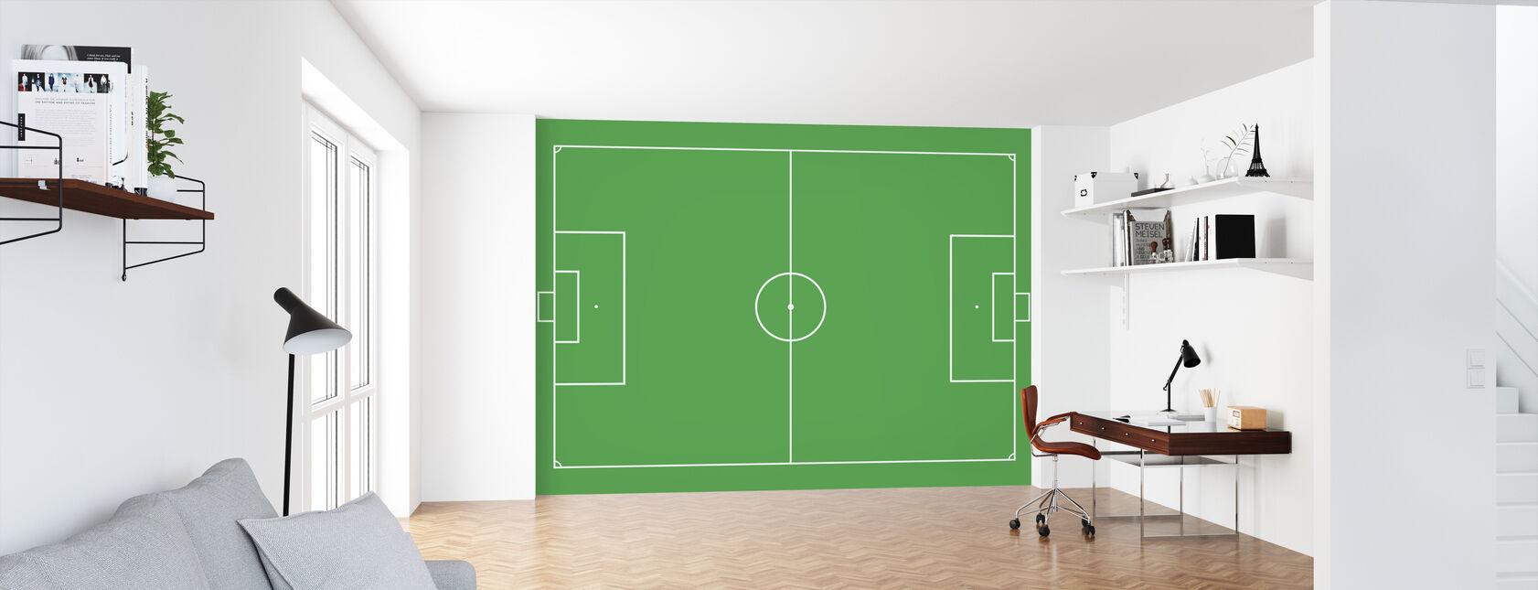 Soccer Field - Wallpaper - Office