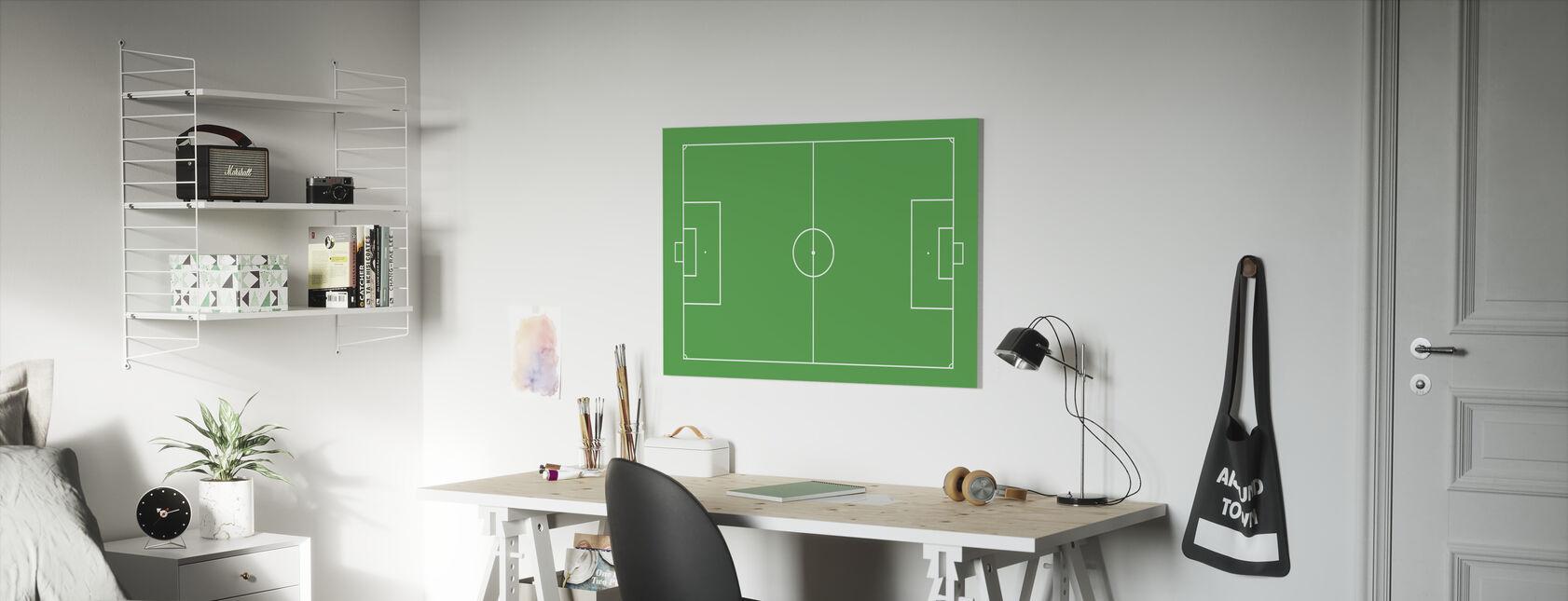 Soccer Field - Canvas print - Kids Room
