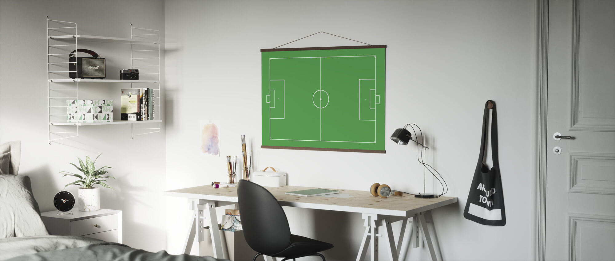 Fodbold felt - Plakat - Kontor