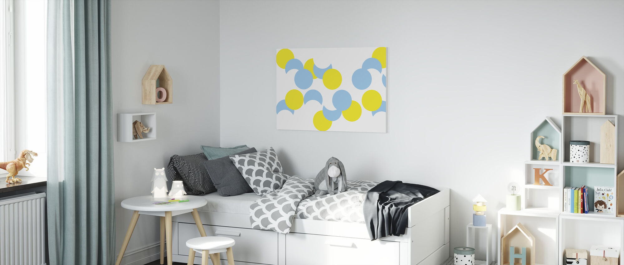 Glistening Sunshine - Canvas print - Kids Room