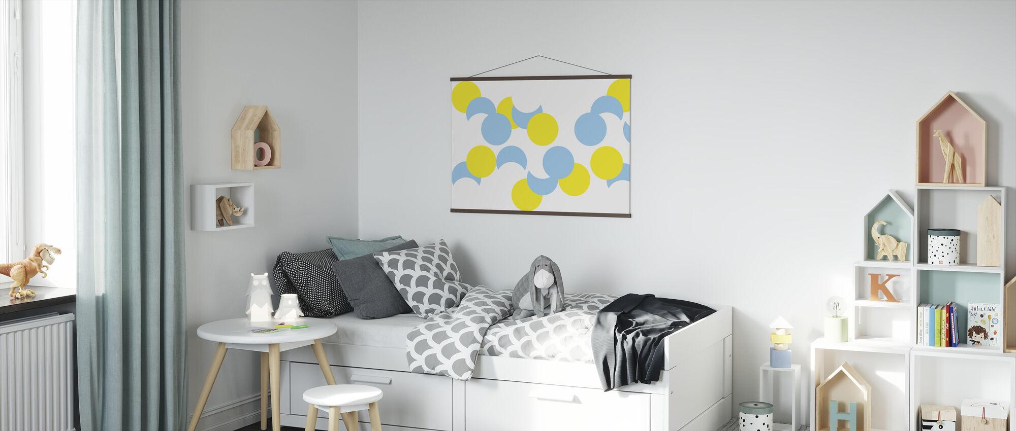 Glinsterende Zonneschijn - Poster - Kinderkamer