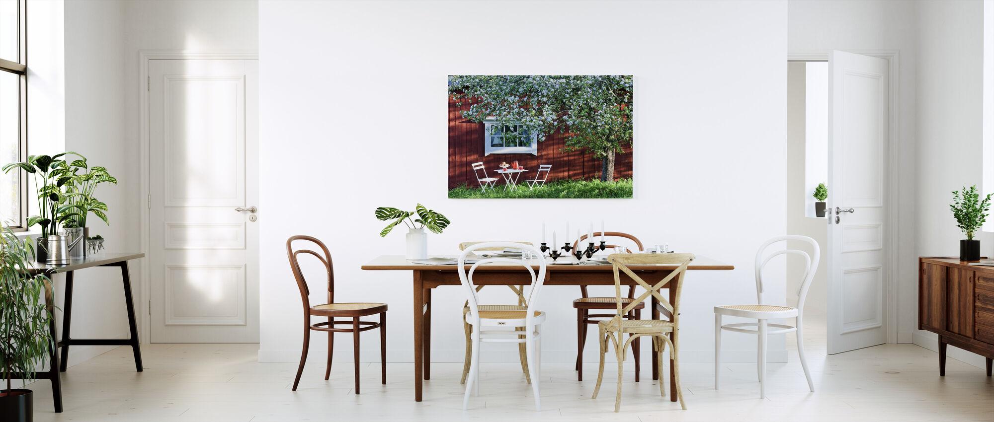 Garden Holiday - Canvas print - Kitchen