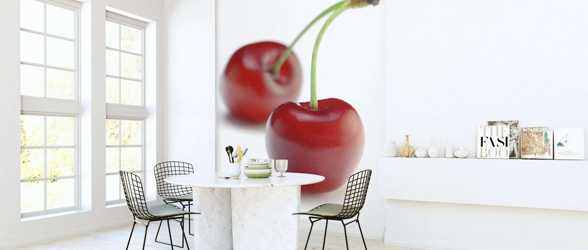 Two Cherries - Wallpaper - Kitchen