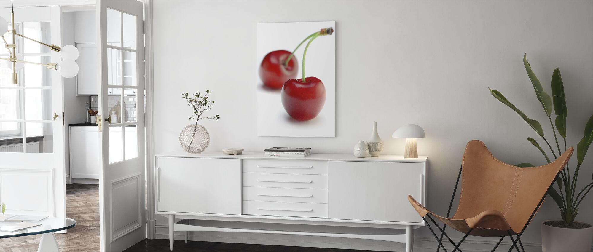 To kirsebær - Lerretsbilde - Stue