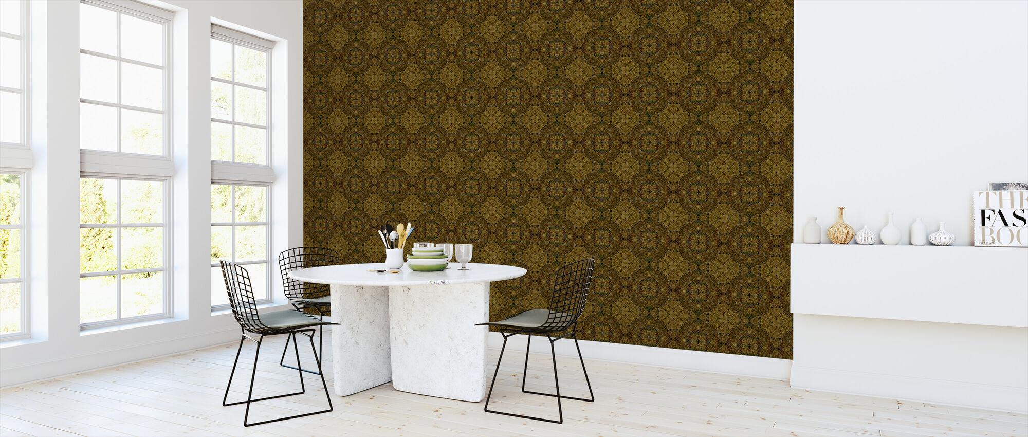 Brown - Wallpaper - Kitchen
