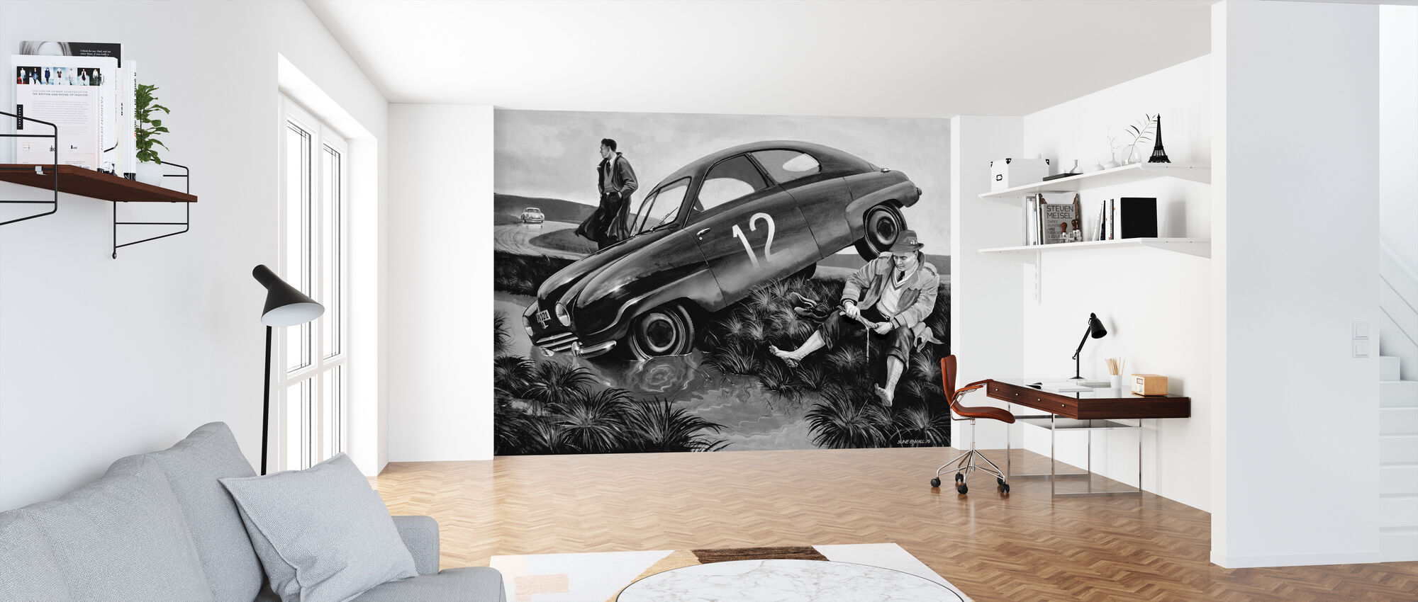 Carlsson Car BW - Wallpaper - Office