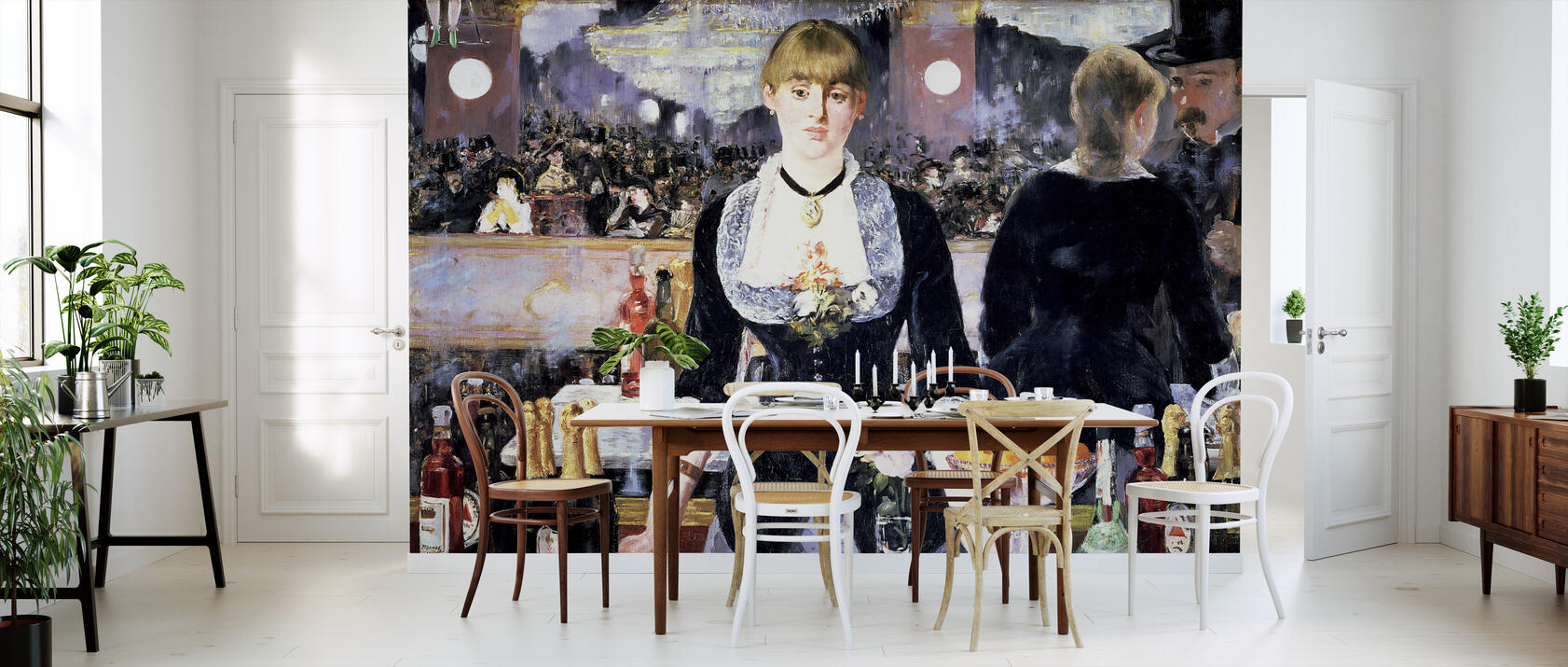 bar at folies bergere edouard manet fototapete nach ma. Black Bedroom Furniture Sets. Home Design Ideas