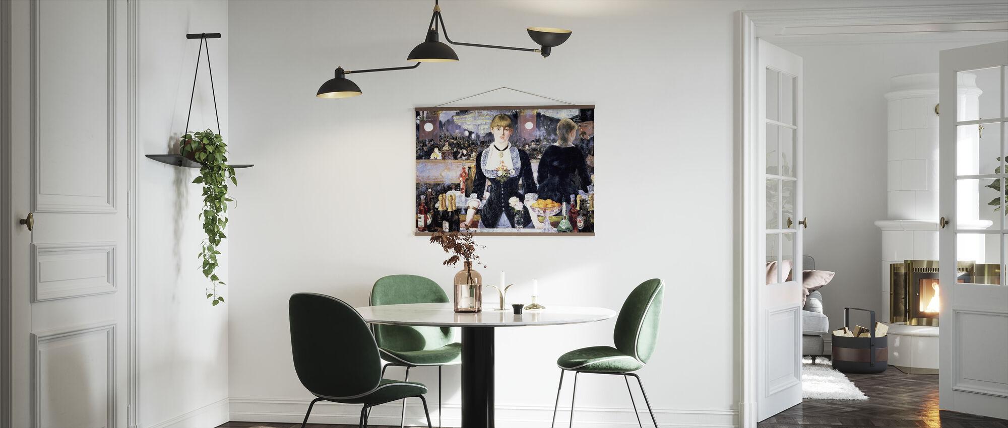 Bar på Folies-Bergere, Edouard Manet - Poster - Kök