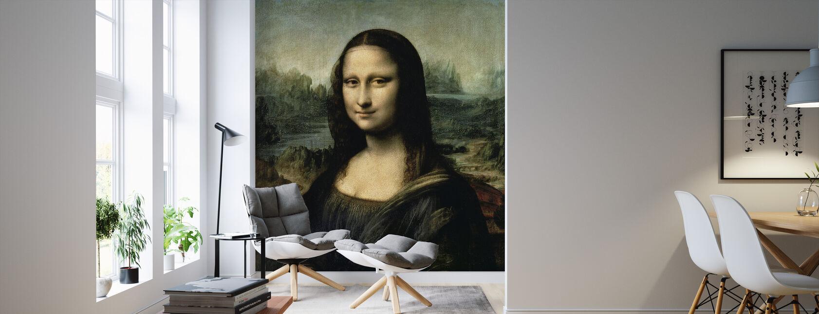Mona Lisa, Leonardo da Vinci - Tapet - Stue