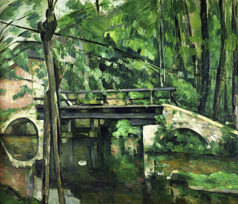 Paul Cezanne - Obraz na płótnie