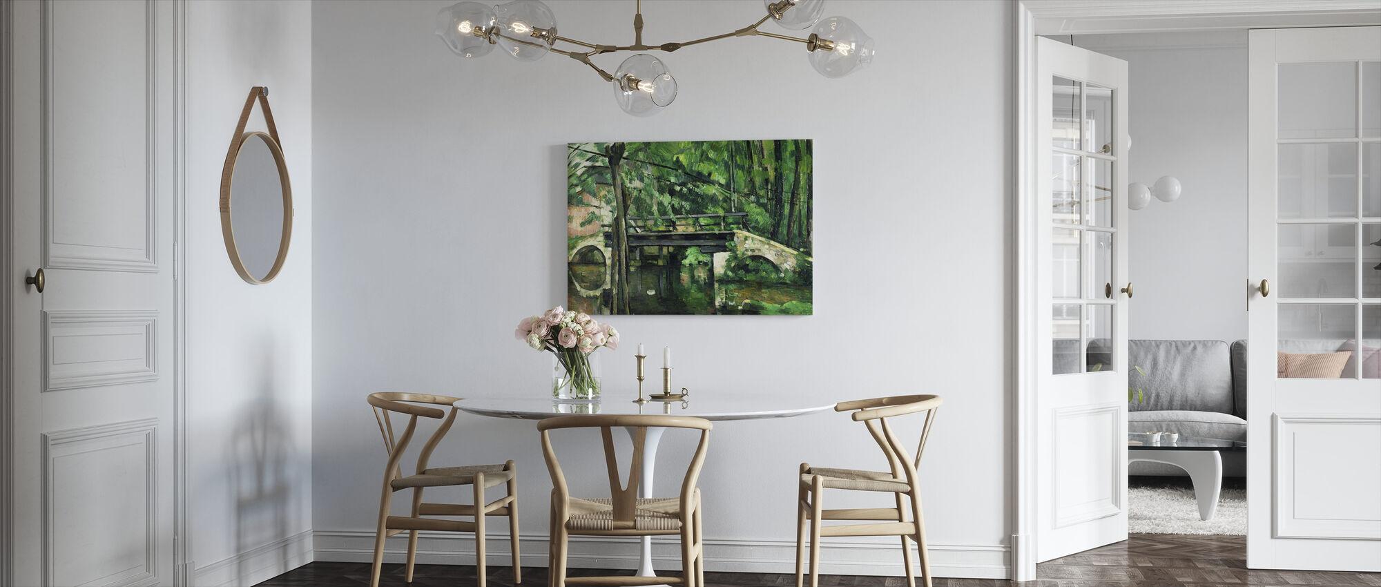 Paul Cezanne - Billede på lærred - Køkken