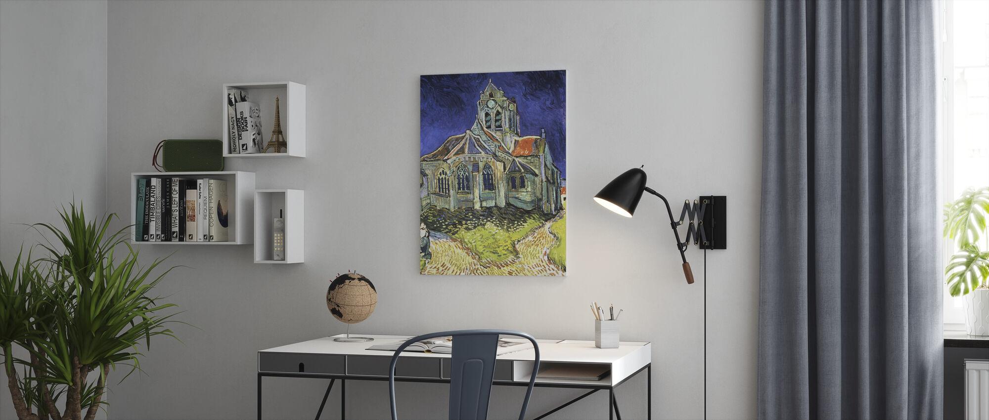 Church at Auvers-sur-Oise - Vincent van Gogh - Canvas print - Office