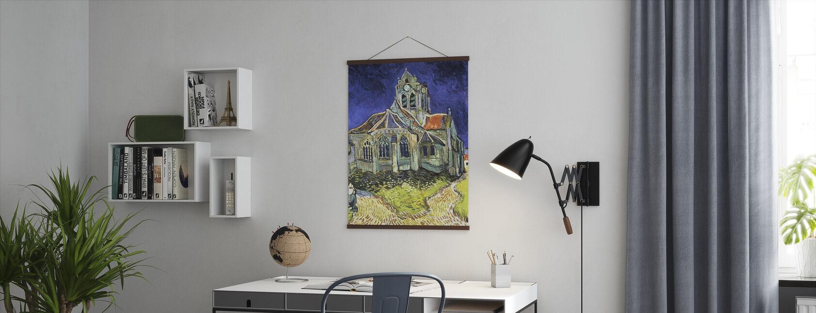 Church at Auvers-sur-Oise - Vincent van Gogh - Poster - Office