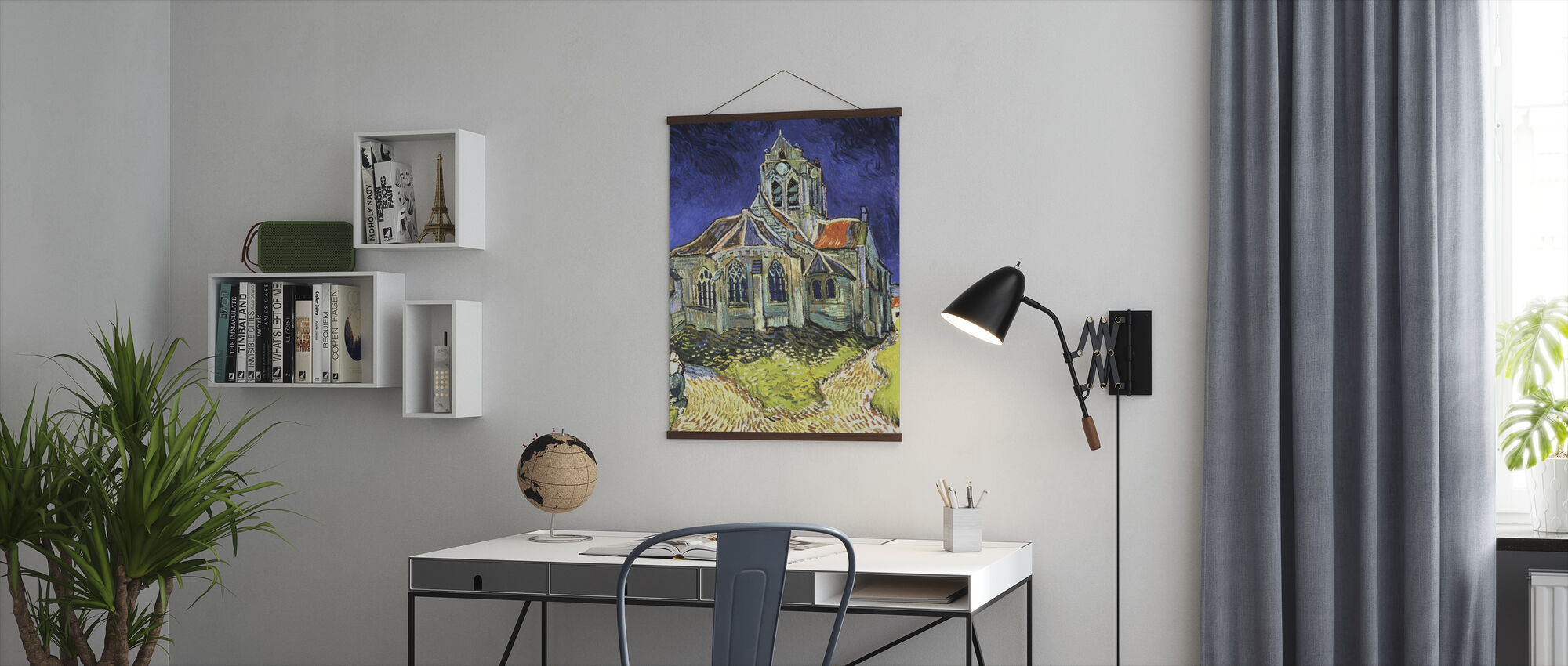 Church at Auvers-sur-Oise - Vincent van Gogh - Poster - Office