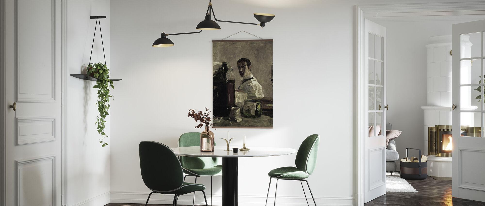 Selvportrett, Henri Toulouse Lautrec - Plakat - Kjøkken
