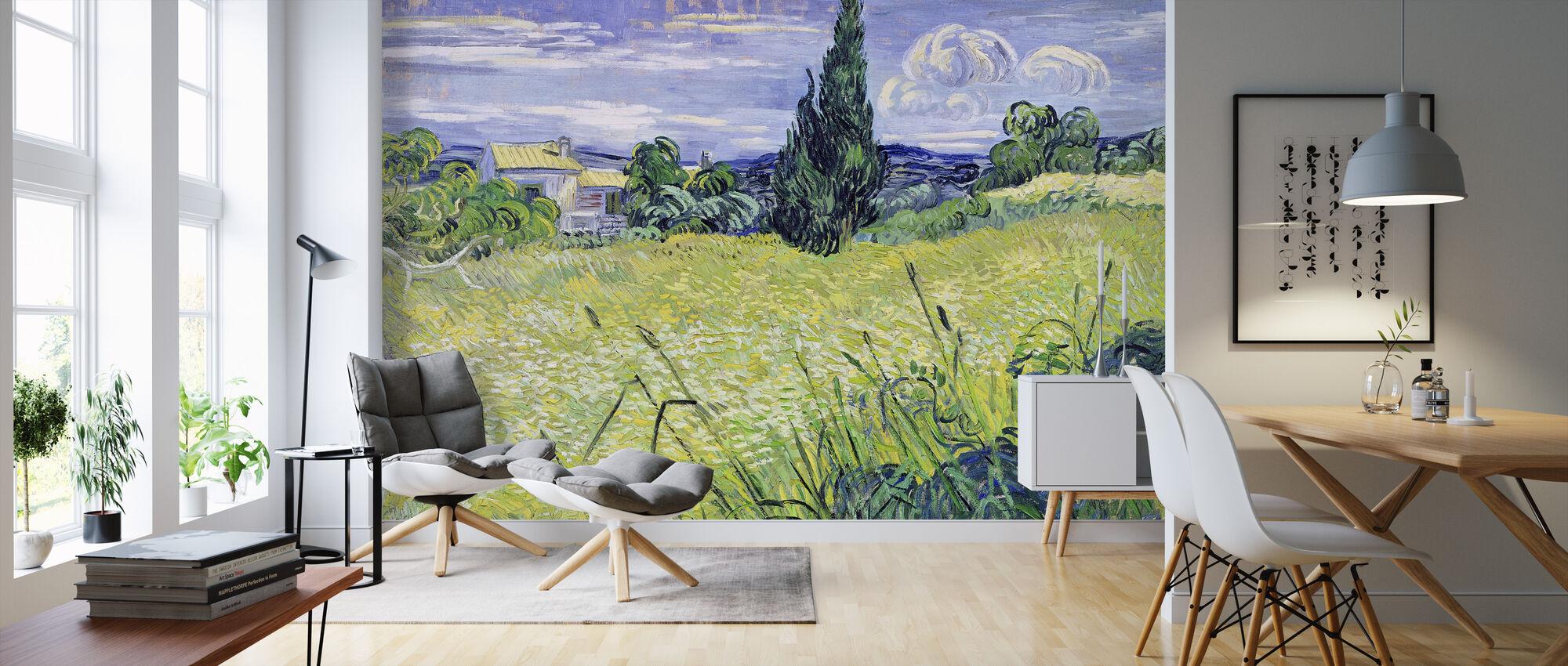 Field, Vincent van Gogh - Tapet - Stue