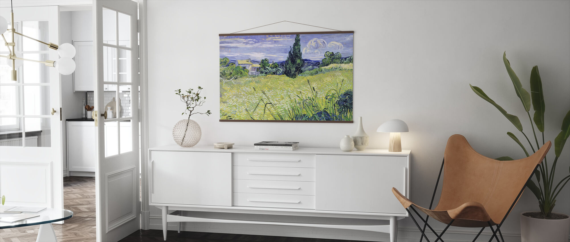 Veld, Vincent van Gogh - Poster - Woonkamer