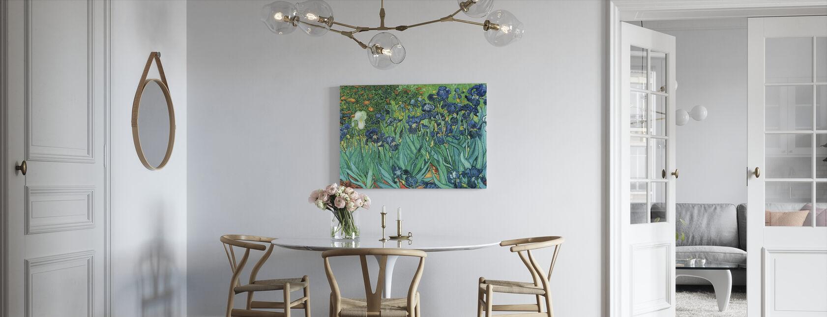Irises, Vincent van Gogh - Canvas print - Kitchen
