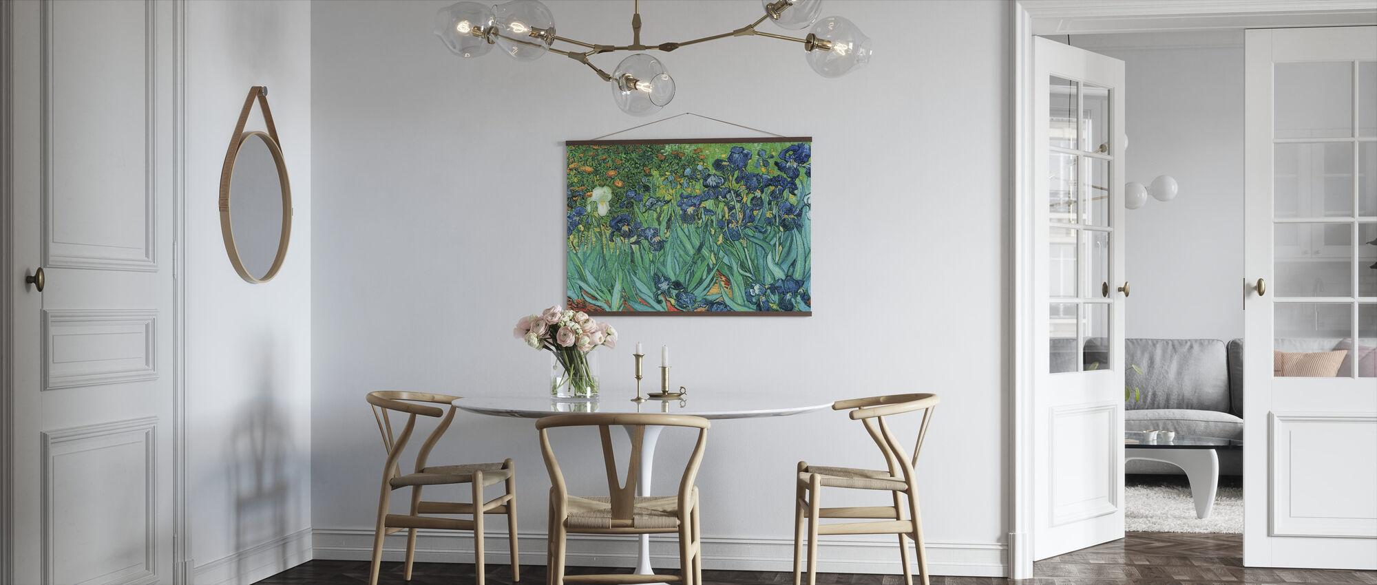 Irissen, Vincent van Gogh - Poster - Keuken