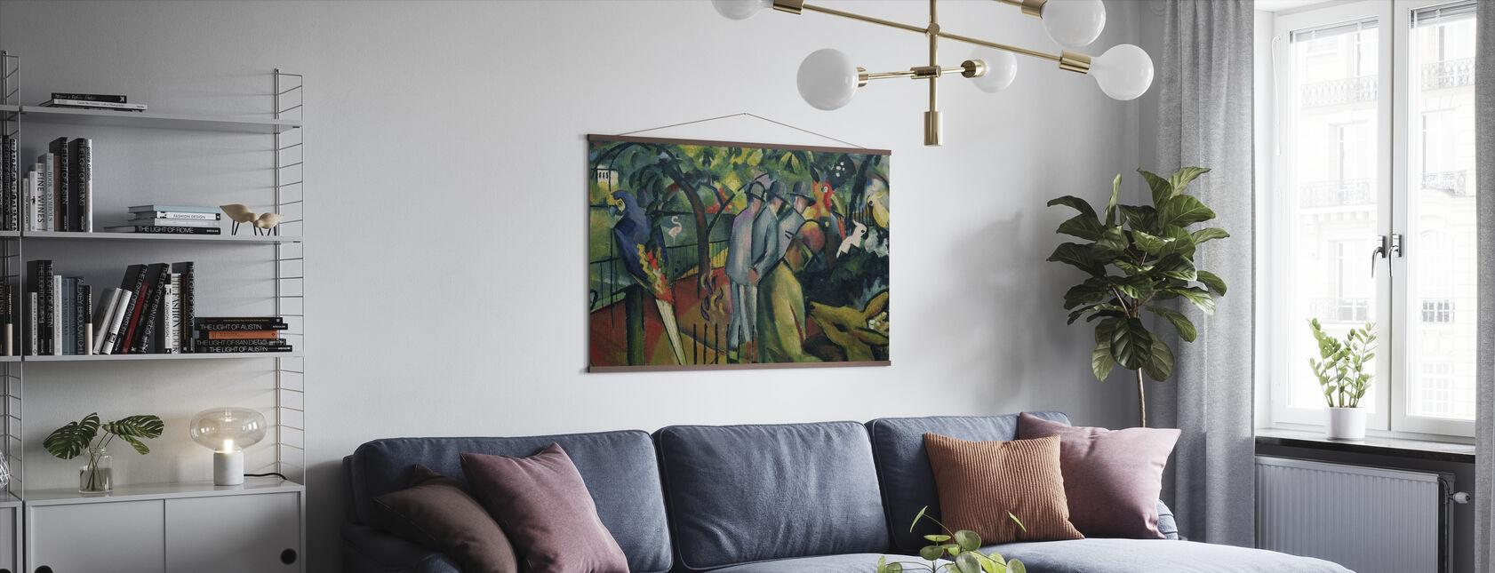August Macke - Plakat - Stue