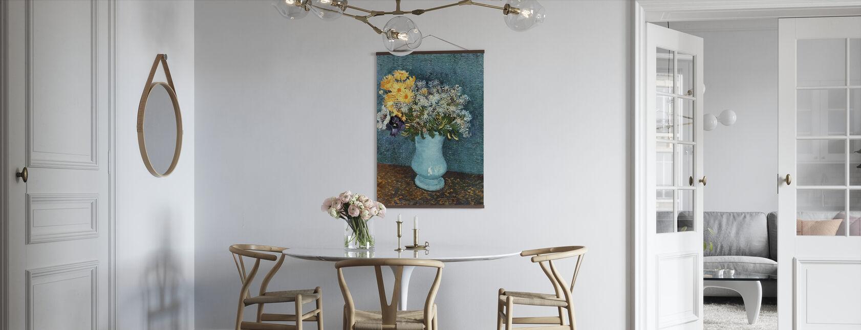 Vase med syrener, tusindfryd og Anemones, Vincent van Gogh - Plakat - Køkken