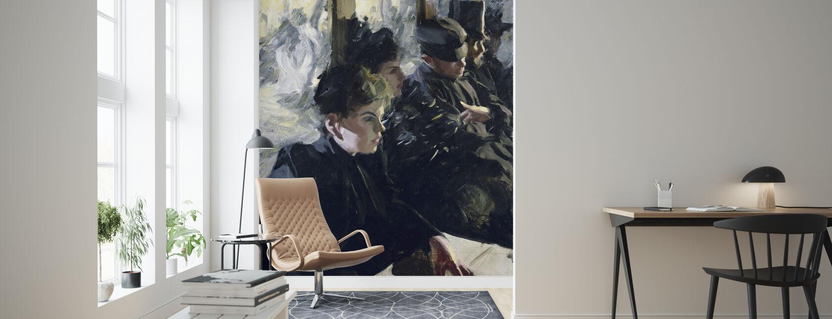 Omnibus, Anders Zorn - Wallpaper - Living Room