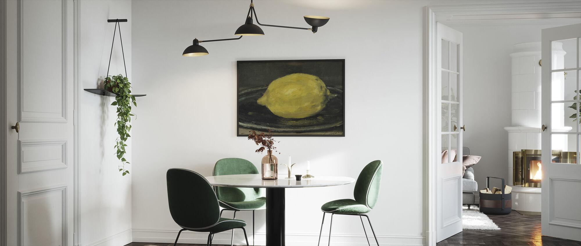 Sitruuna, Edouard Manet - Kehystetty kuva - Keittiö