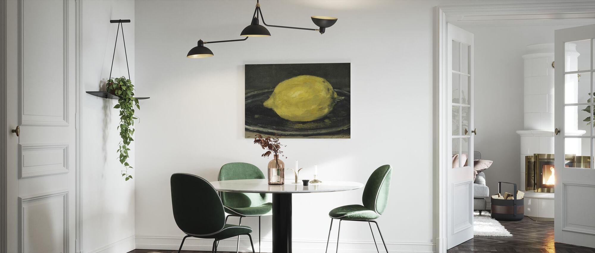 Citron, Edouard Manet - Canvastavla - Kök