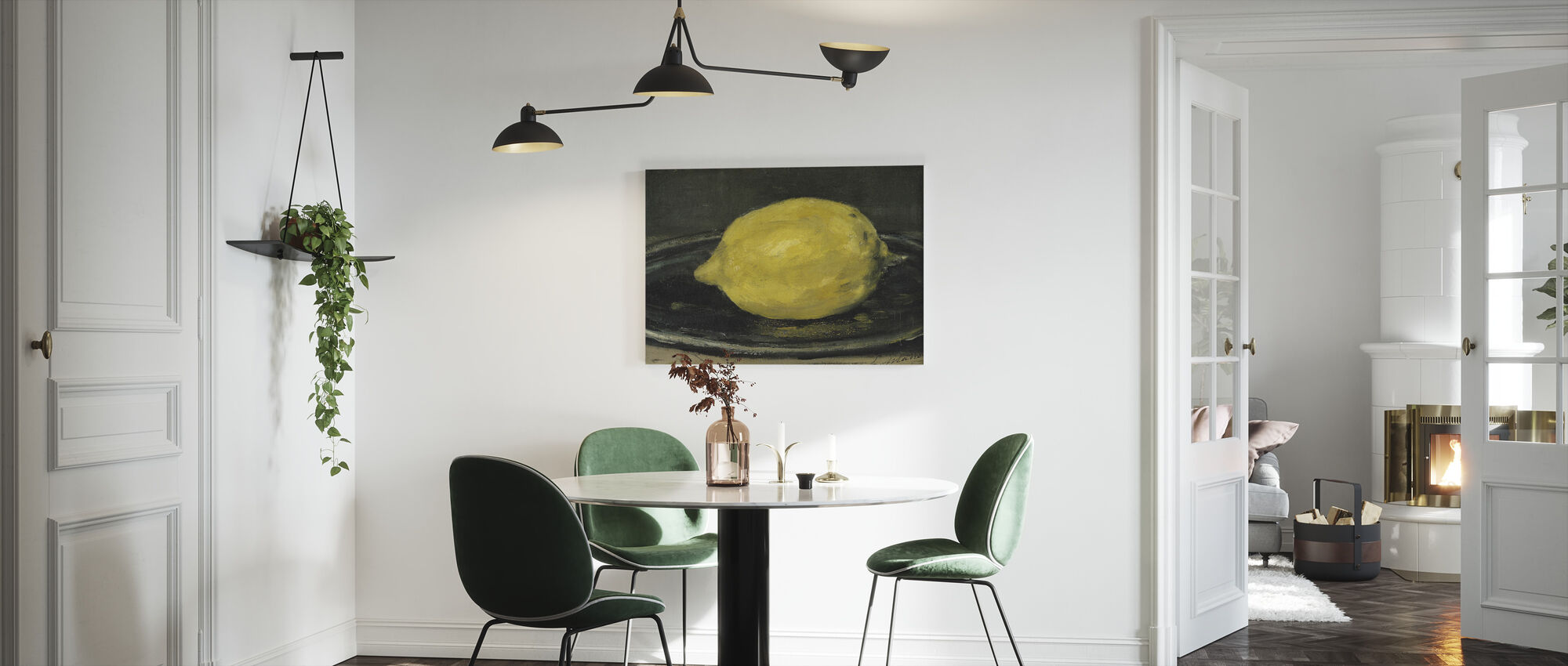 Sitruuna, Edouard Manet - Canvastaulu - Keittiö