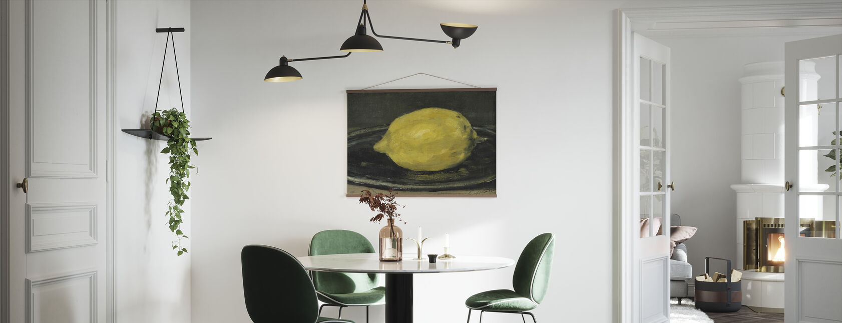 Lemon, Edouard Manet - Poster - Kitchen