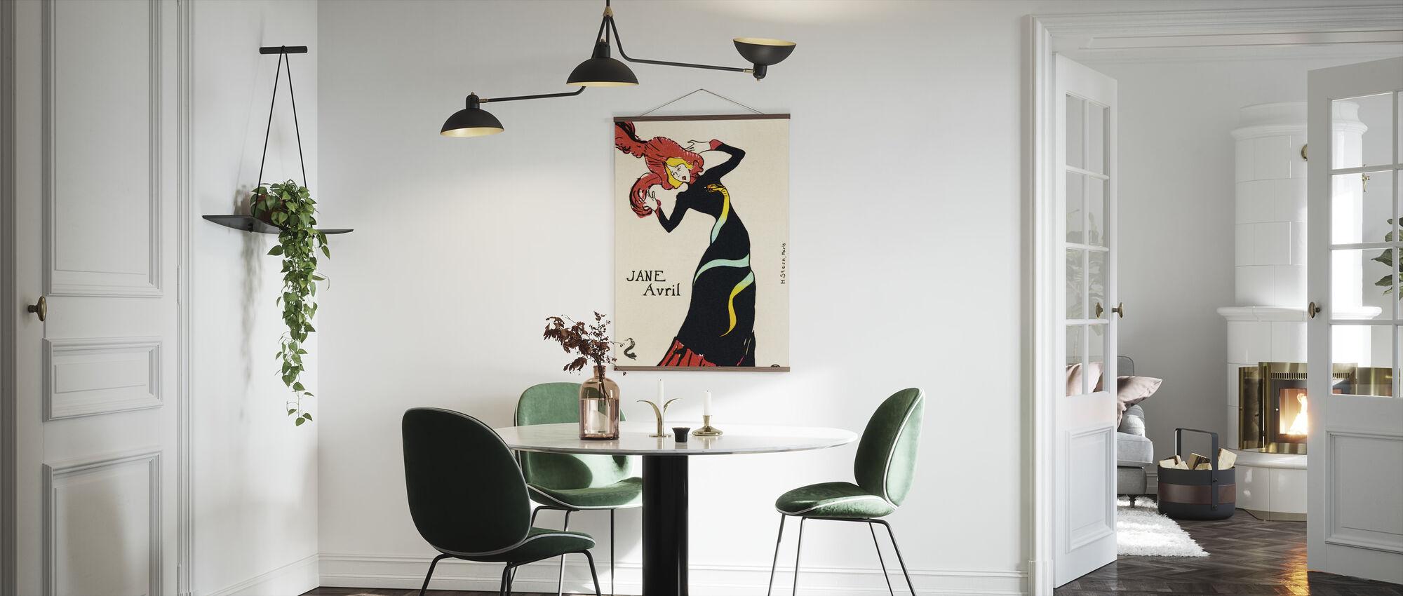 Jane Avril, Henri Toulouse Lautrec - Poster - Kitchen