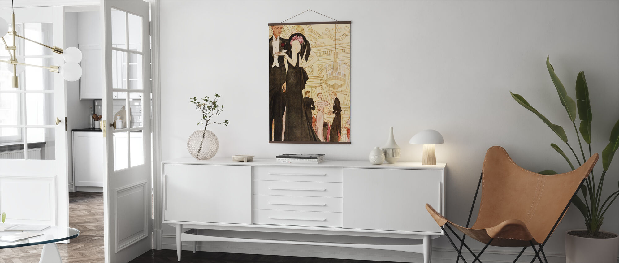 Evening Scene, National Magazines - Poster - Living Room