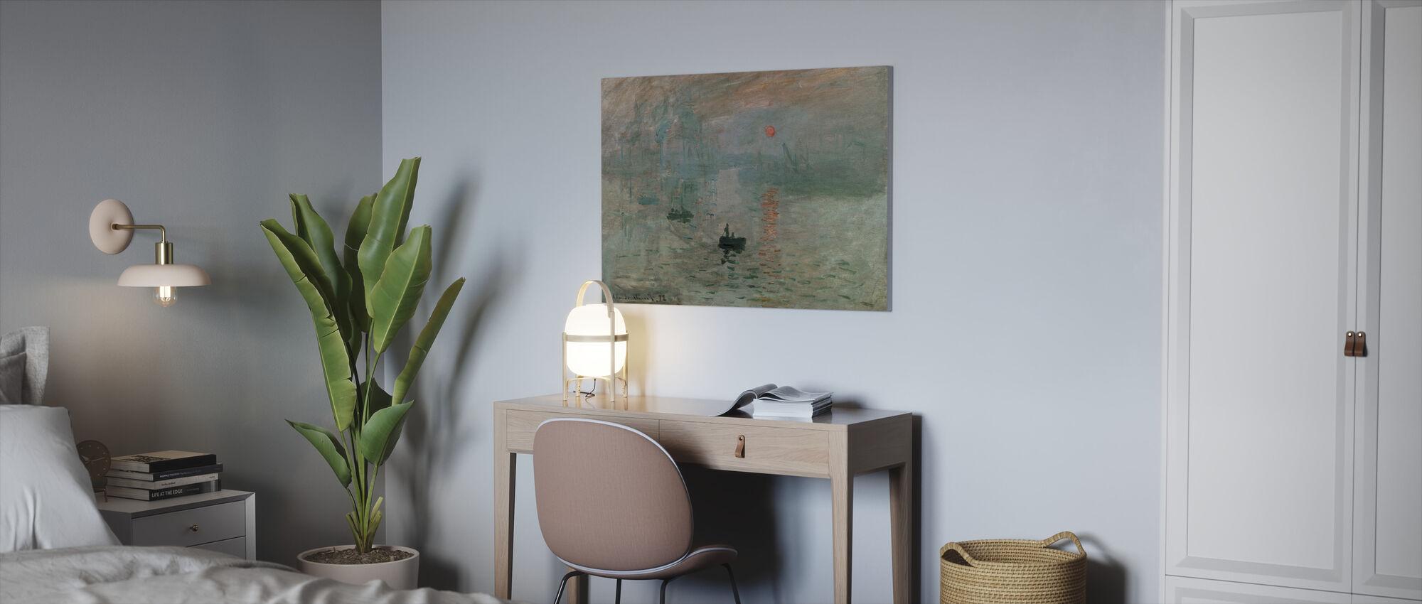 Monet, Claud - Intryck - Canvastavla - Kontor
