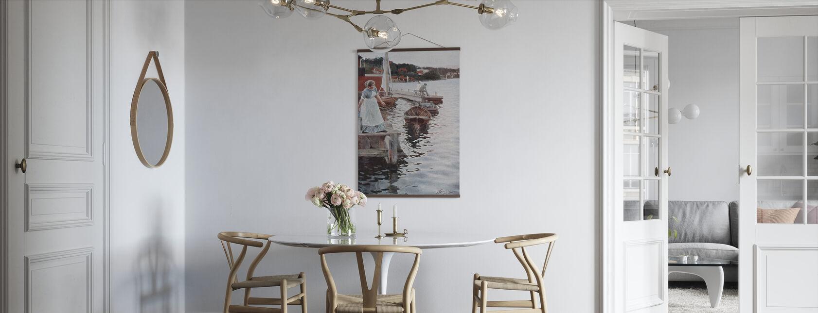 Vågskvalp, Anders Zorn - Poster - Kök