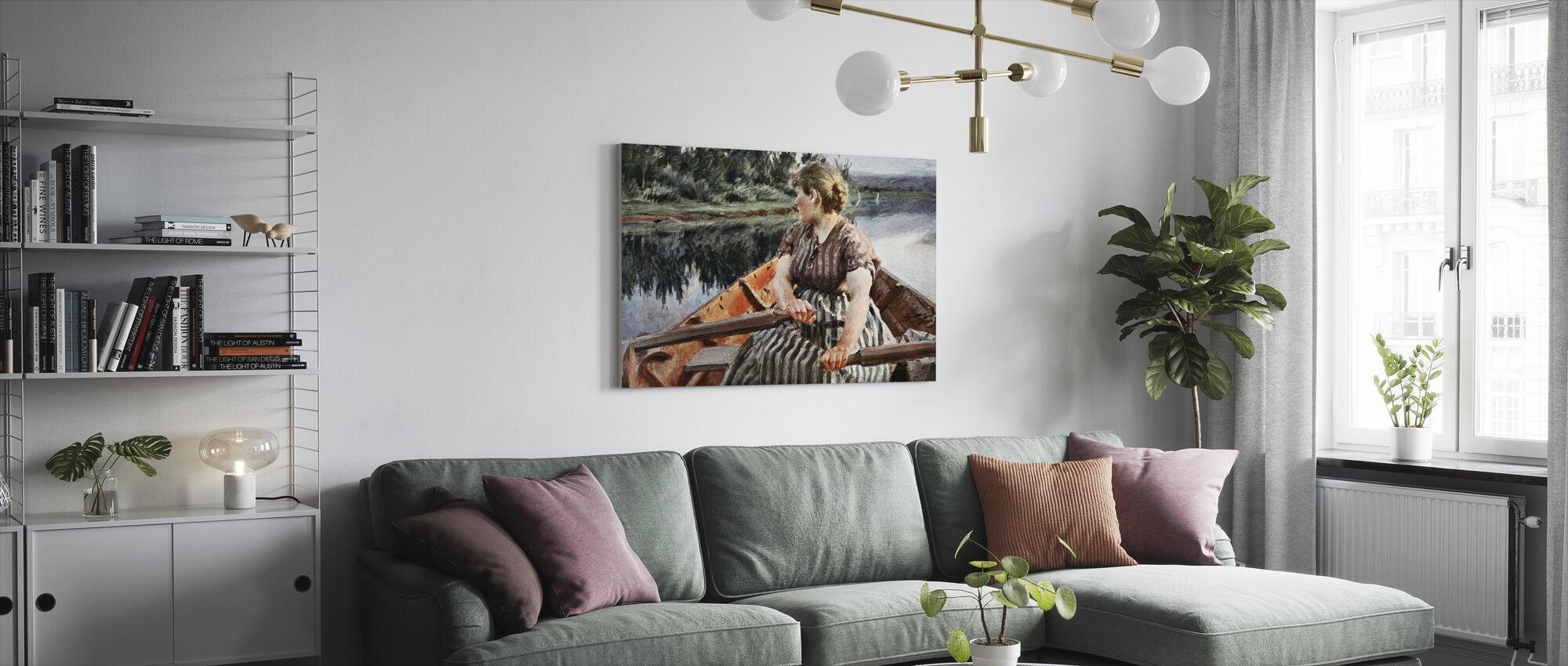 Midzomernacht, Anders Zorn - Canvas print - Woonkamer