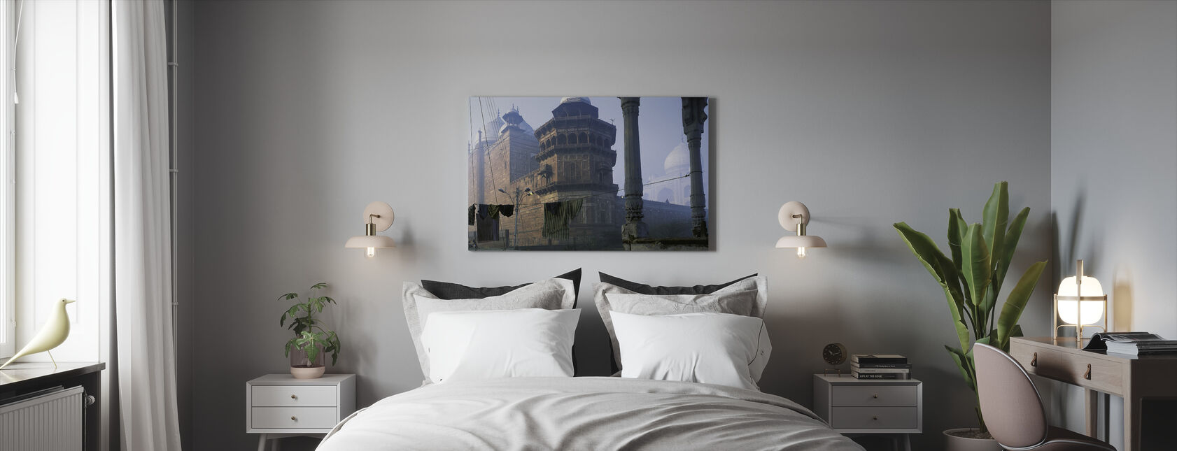 Taj Mahal, Agra, India - Canvastaulu - Makuuhuone