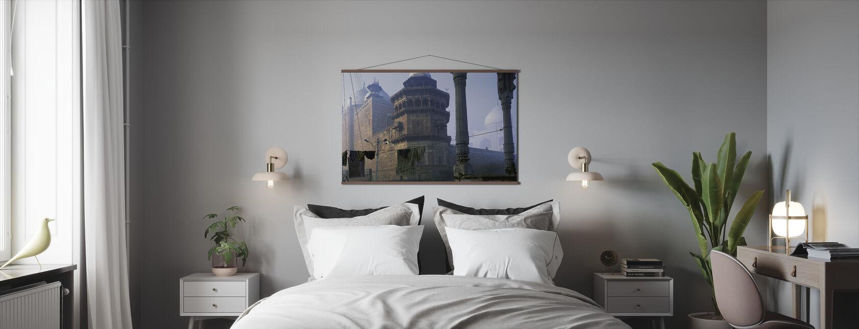 Taj Mahal, Agra, India - Poster - Bedroom