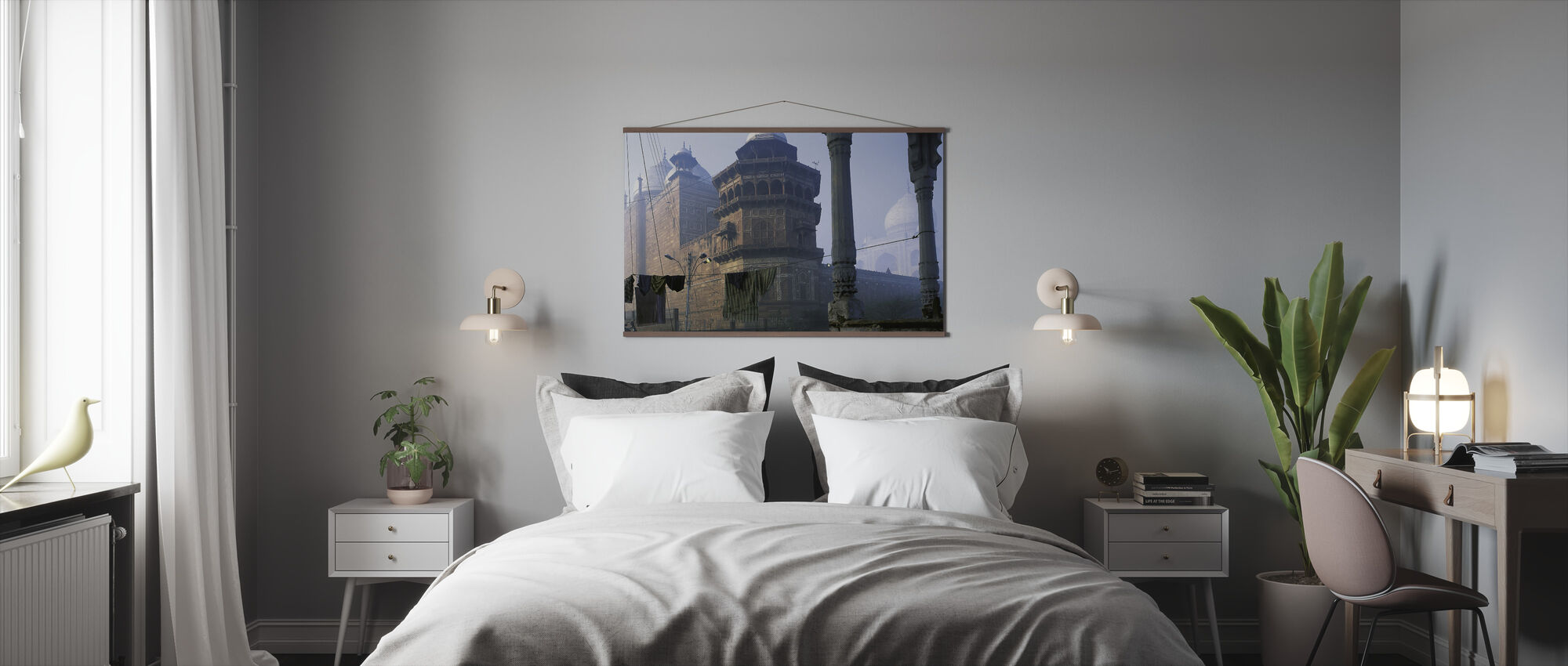 Taj Mahal, Agra, India - Poster - Bedroom