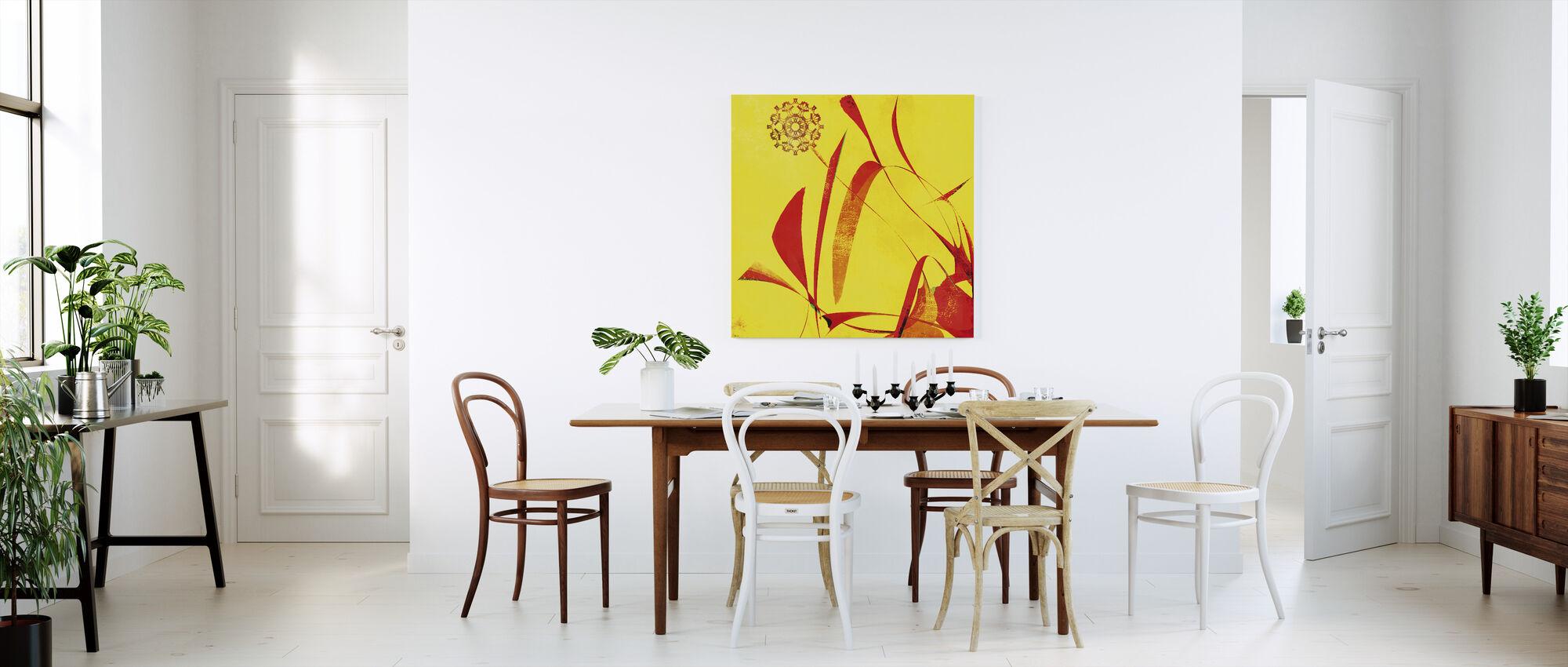 Abstract Dandelion - Canvas print - Kitchen