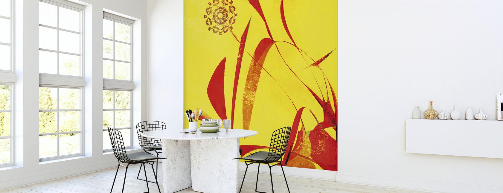 Abstract Dandelion - Wallpaper - Kitchen