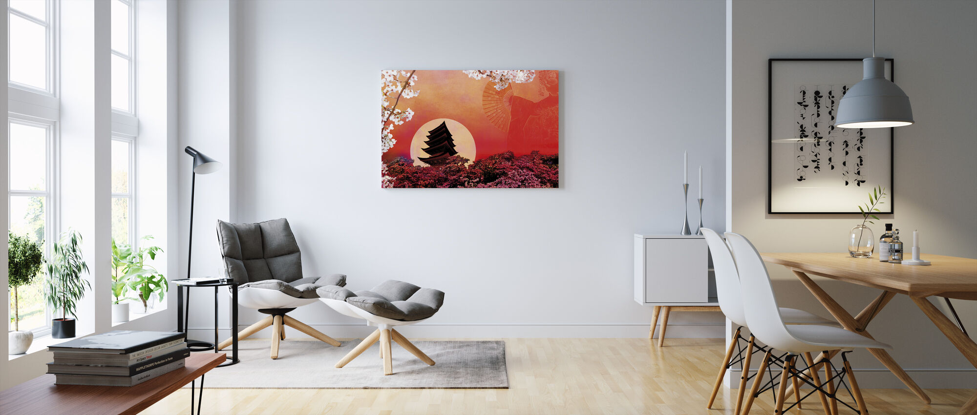 Rising Sun - Canvas print - Living Room