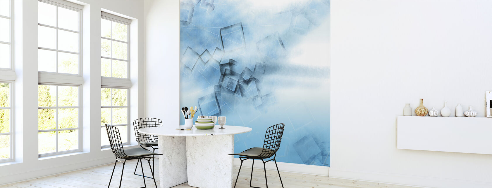 Blue Game - Wallpaper - Kitchen