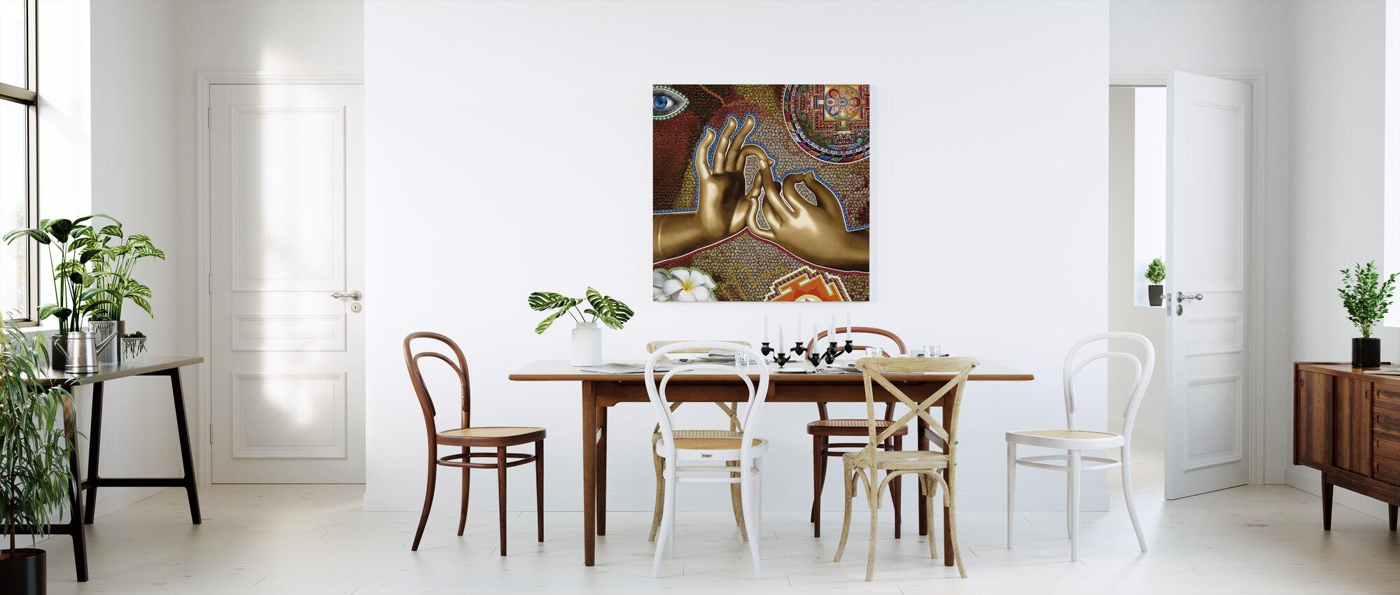 OHM - Canvas print - Keuken