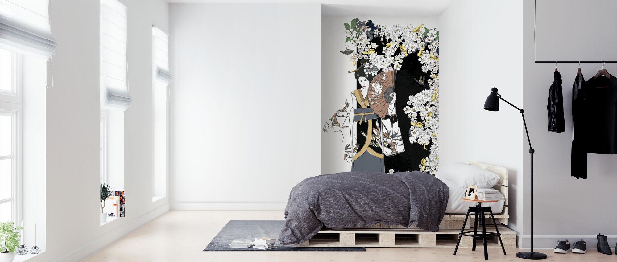 Geisha - Wallpaper - Bedroom